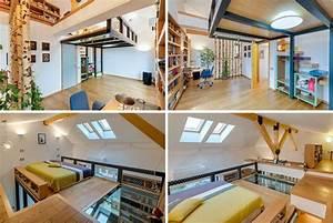 Lit mezzanine 2 places 9 idées gain de place chambre adulte