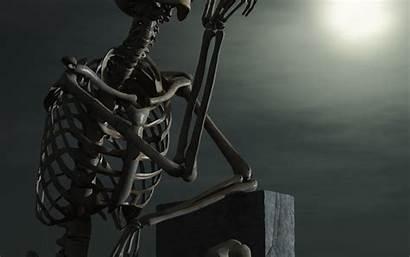 Skeleton Wallpapers Cool 3d Skeletons Stone Laptop