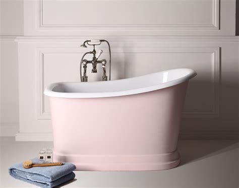 small freestanding bath  big bathroom splash