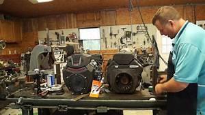 Exmark Lazer Z Motor Swap  Installing A Predator 670