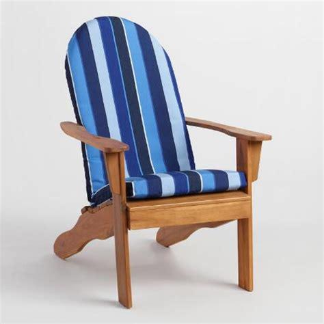 sunbrella cobalt blue adirondack chair cushion