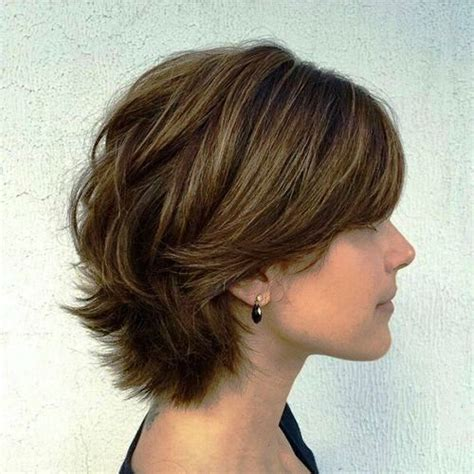 23 cute and super easy short hairstyles for thick hair