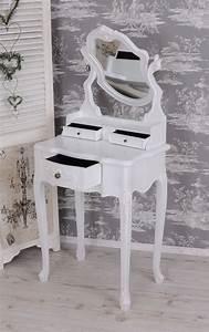 Schminktisch Shabby Chic : vintage schminktisch weiss schminkkommode toilettentisch shabby chic ebay ~ Sanjose-hotels-ca.com Haus und Dekorationen