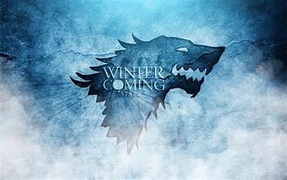 Stark Thrones Wallpapers Winter Coming Starks