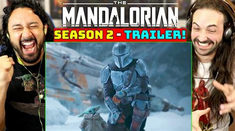 THE MANDALORIAN | SEASON 2 TRAILER - REACTION! - YouTube