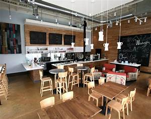 Thatcher's Coffee Shop Showcases Recycled Design