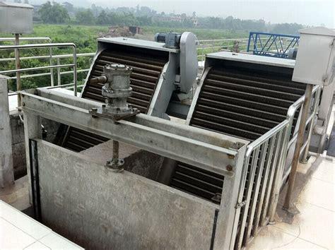 grille sewage  industrial wastewater bar screen machine