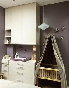 beautiful amenagement d une chambre bebe dans une chambre With amenager chambre bebe dans chambre parents