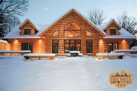 Build Custom Home by Aspen Vii Log Home Plan By True Log Homes