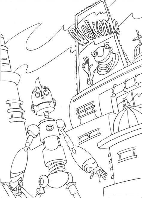 disegni robot da colorare per bambini robot disegni per bambini da colorare