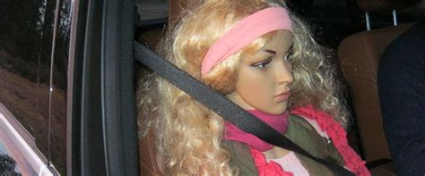 washington state trooper catches driver  mannequin