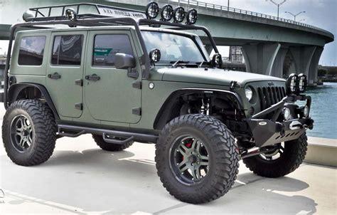 Custom Jeep Wrangler Unlimited, wallpaper jeep wrangler