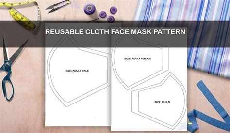 Learn an easy way to make pleats in this diy project with a video tutorial. Face Mask Sewing Pattern Printable | Fabric Face Mask ...