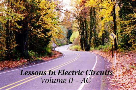 Lessons In Electric Circuits  Volume Ii (ac)  Table Of