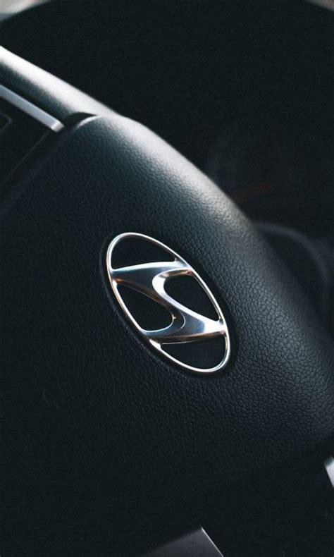 24 hyundai genesis logo wallpapers on wallpapersafari. 480x800 Wallpaper hyundai, steering wheel, logo   Hyundai ...
