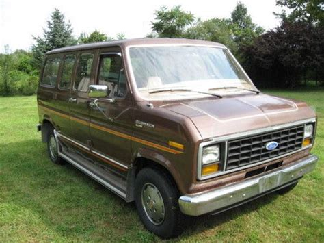best car repair manuals 1994 ford club wagon electronic valve timing sell used 1984 ford econoline 150 club wagon rare swb manual od trans in somerville new