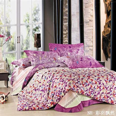 King Duvet Set Sale by Sale Purple Cotton King Size Duvet Quilt
