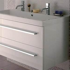 modele domino meubles sous vasque avec plan lapeyre With salle de bain design avec meuble bas lavabo