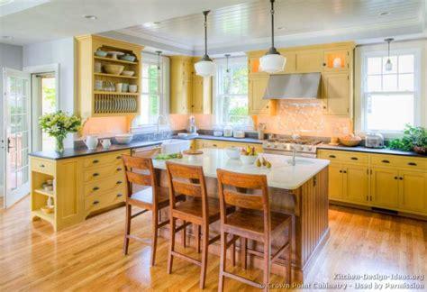 wood kitchen cabinets kitchen ideas on yellow kitchens small galley Yellow