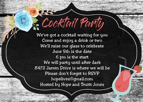 Summer Party invitations for NEW selections 2020