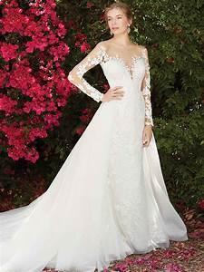 Top Six Long Sleeve Wedding Dresses From Casablanca Bridal ...