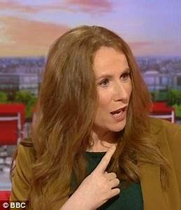 Catherine Tate corrects presenter Charlie Stayt after he ...