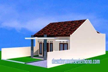 desain rumah minimalis 1 lantai type 60 luas tanah 120 m2