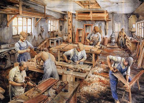 carpenters   work    days antique