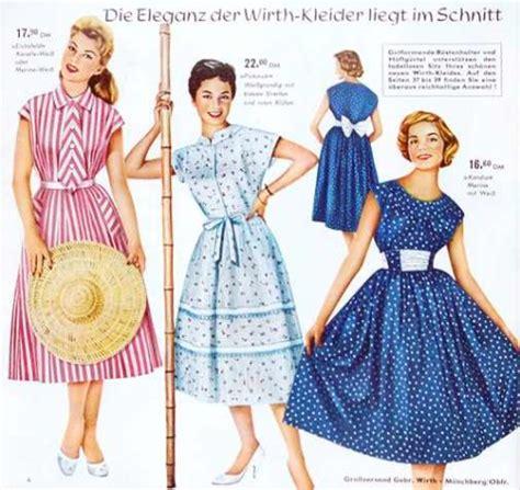 Die 50er Mode by Mode Der 50er Jahre