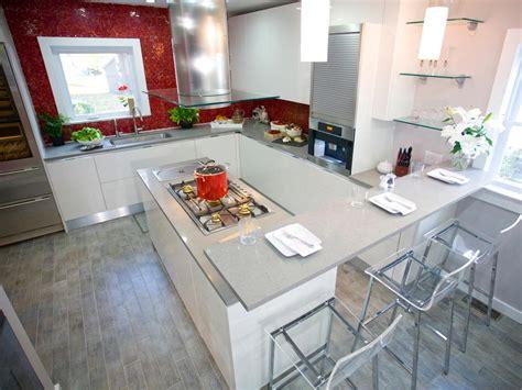 kitchen table island combination formica countertops hgtv