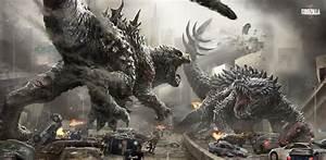 มาดูงานออกแบบ 2 สัตว์ประหลาดที่ไม่ได้ใช้ในหนัง Godzilla