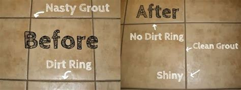 diy home remedy tile and grout cleaner baking soda and
