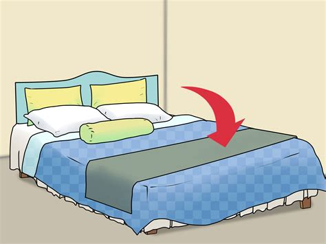 ways  decorate  bed wikihow