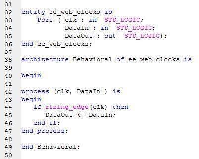 Vhdl Tick Tock Processing Clocks Eeweb Community