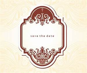 19 free save the dates psd vector download With vintage save the date templates free