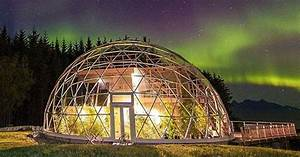 Geodesic dome protects cob house & family of 6 in Arctic ...
