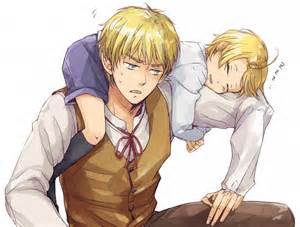 Hetalia America and England