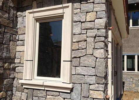 stone window concrete surrounds moldings door cast sills lintels