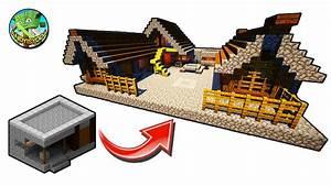 How To Transform A Minecraft Village Blacksmith YouTube