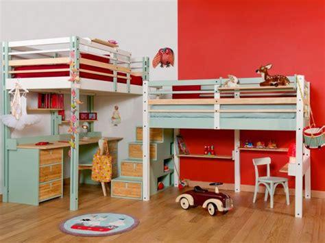 amenagement chambre 2 enfants 2 enfants une chambre 8 solutions pour partager l 39 espace