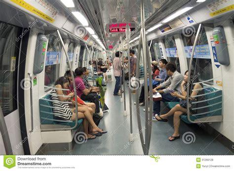 Singapore Metro Editorial Stock Photo