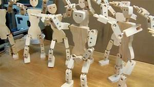 Woodworking: Articulated ball joint robots - YouTube