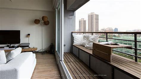 kleine bank für balkon balkon in klein appartement interieur inrichting