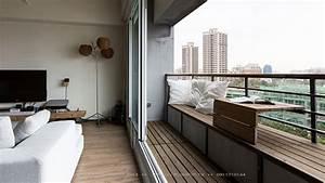 Balkon Bank Klein : balkon in klein appartement interieur inrichting ~ Michelbontemps.com Haus und Dekorationen