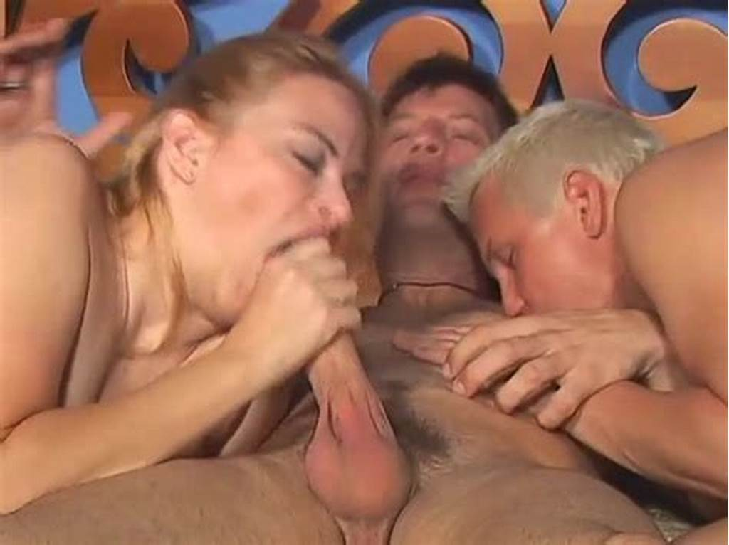 #Busty #Milf #And #Two #Guys #In #Bisexual #Threesome
