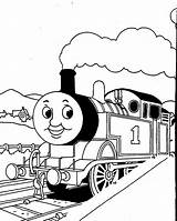 Coloring Train Thomas Printable Craft Related sketch template