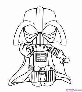 Drawn Darth Vader Pencil And In Color Drawn Darth Vader