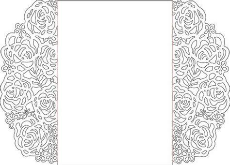 silhouette wedding invitations design  getdrawings