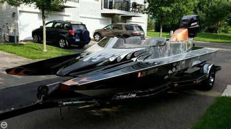 Used Boat Hulls For Sale by 2012 Used Vicious Tunnel Hull 18 High Performance Boat For
