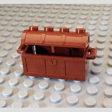 New Part  Lego Pirate  Treasure Chest  Brown  Island  Ship  Fill Wgold Ebay